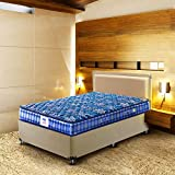 Peps Springkoil Bonnell 6-inch King Size Spring Mattress (Dark Blue, 72x72x06) with Two