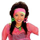 NET TOYS 80er Jahre Neon Stirnband Haarbänder Haarband Stirn Bänder Haar Accessoire Band Kopf...