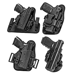 Custom-molded shell for perfect fit, security and functionality when training or carrying! Custom fit for: Glock 19 Fully Adjustable with No Tools Required - Switch between holsters, ride heights, and cant's, as well as retention, all without the nee...