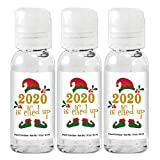 2020 is Elfed Up Christmas Holiday Hand Sanitizer, Christmas Party Favor Hand Sanitizers, Custom Hand Sanitizers, Stocking Stuffer Hand Sanitizer (Set of 12)
