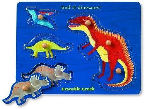 Crocodile Creek Dinosaur Themed boisen Puzzle