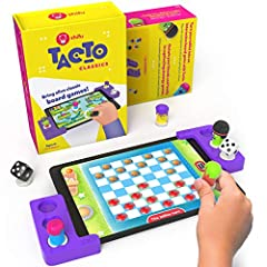 TACTO CLASSICS transforms your tablet into an interactive board game! Add a fun twist of storytelling to the age-old favorites like Chutes & Ladders, Ludo, Checkers & more. Tacto blends the endless fun of retro board games with digital gameplay using...