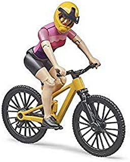 Bruder 63111 bworld Mountain Bike with Figure