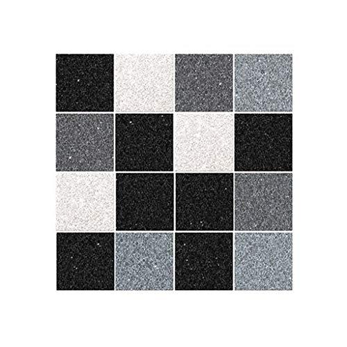 Fliesenaufkleber für Küche und Bad 18 Stück Serria® 10x10cm Mosaik,Dekofolie,Dekorative Fliesen Klebefolie für Wandfliesen