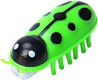 khkadiwb Cat Toys/Interactive Cat Toys/Cat Accessories/Electronic Running Insect Bug Ladybird Interactive Cat Kitten Toy Pet Supplies - Green Having Fun Exercise Playing