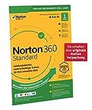 Norton 360 Standard 2020, 1-Gerät, 1-Jahres-Abonnement mit Automatischer Verlängerung, Secure VPN und Passwort-Manager, PC/Mac/Android/iOS, FFP, Download