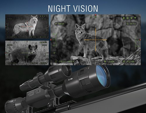 Best Digital Rifle Scope For Hunting 1