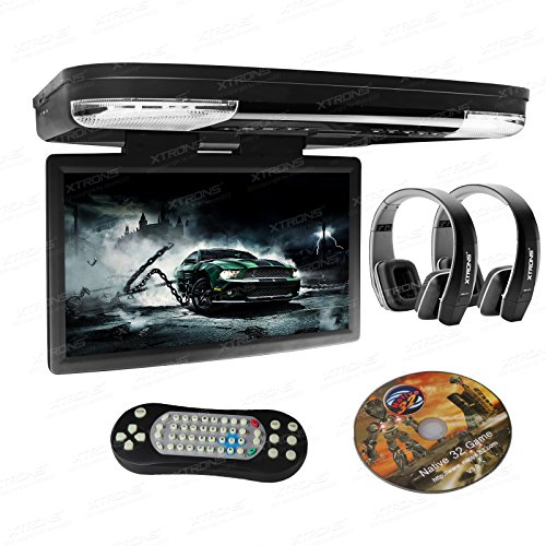XTRONS 15.6 Inch 1080P Video HD Digital Widescreen Car Overhead Coach...