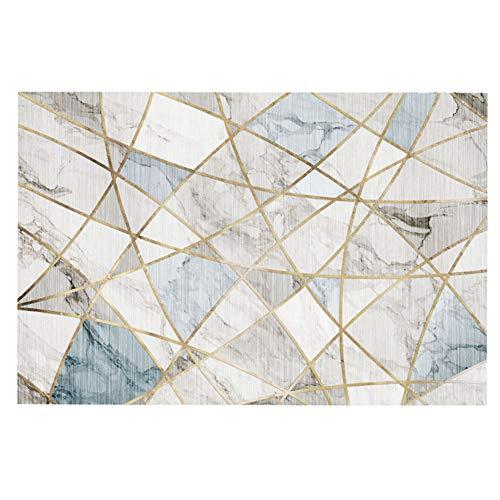 YAOTT Moderno Tappeto di Design con Bordo Motivo per Soggiorno, soffice, Tappetino per Il Letto, Divano 5 140 * 200cm