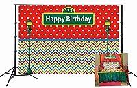 GooEoo 10x7ft漫画かわいいパンダの背景女の子の誕生日パーティーの装飾赤ちゃんピンクの背景水玉キラキラハート形家族のパーティーの誕生日の背景赤ちゃんの装飾ビニール素材