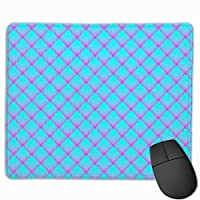 """Op Plaid Mouse Pad Non-Slip Rubber Gaming Mouse Pad Rectangle Mouse Pads for Computers Desktops Laptop 9.8"""" x 11.8"""""""