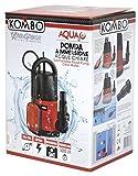 KOMBO Pompa A Immersione ACQUE Chiare 250W per VASCHE, Piscine E BACINI IDRICI PROFONDITA 5M PREVALENZA 6M