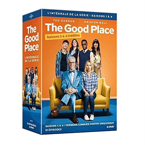 The Good Place-L'intégrale de la série 1 à 4 (Saisons 3 & 4 inédites) [DVD]