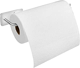 "Paper Towel Holder Wall Mount, with Adhesive Stainless Steel Paper Towel Holder, No Drilling Required (12"" x 3.14"")"