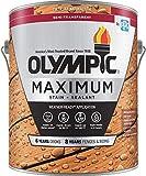 Olympic Stain Maximum Deck Stain, Cedar, 1-Gallon (411010)