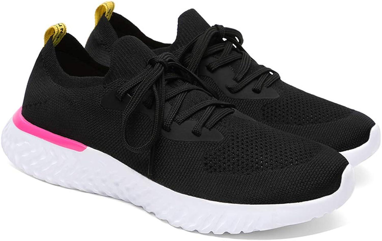 Zarbrina Women's Fashion Sneakers Flyknit Soft Foam Sole Cross Training Lace up Fitness Workout Gym Walking Wear