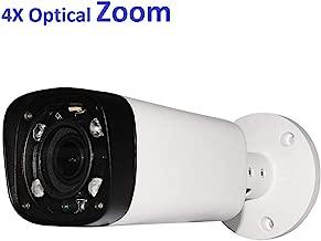 4MP Outdoor Bullet POE IP Camera, IPC-HFW4431R-Z, 2.7-12mm Motorized Varifocal Lens 4X Optical Zoom, Security Network CCTV Camera, 262ft IR Night Vision, Smart H.265+, WDR DNR, IP67, Onvif