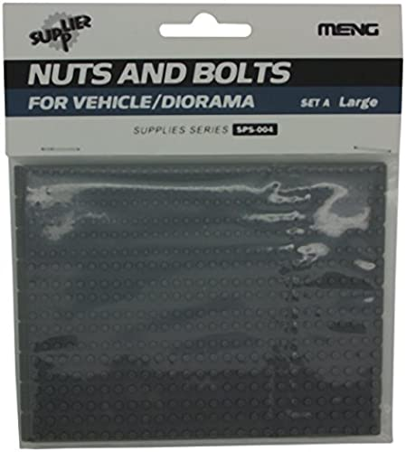 Meng Model 1 35 SET A Nuts and Bolts (Large, Multi-Colour) by MENG