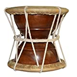 DronaIndia Deru Hand Percussion Drum South Style Handmade Indian Musical Instrument