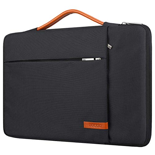 Lacdo 13,3 Pulgada Funda Portátil para 13 Pulgada MacBook Air 2010-2017/MacBook Pro 2010-2015, 13,5' Surface Book/Laptop 3 2 1, 13,3' Jumper EZbook, HP ASUS DELL Acer Lenovo Chromebook, Negro