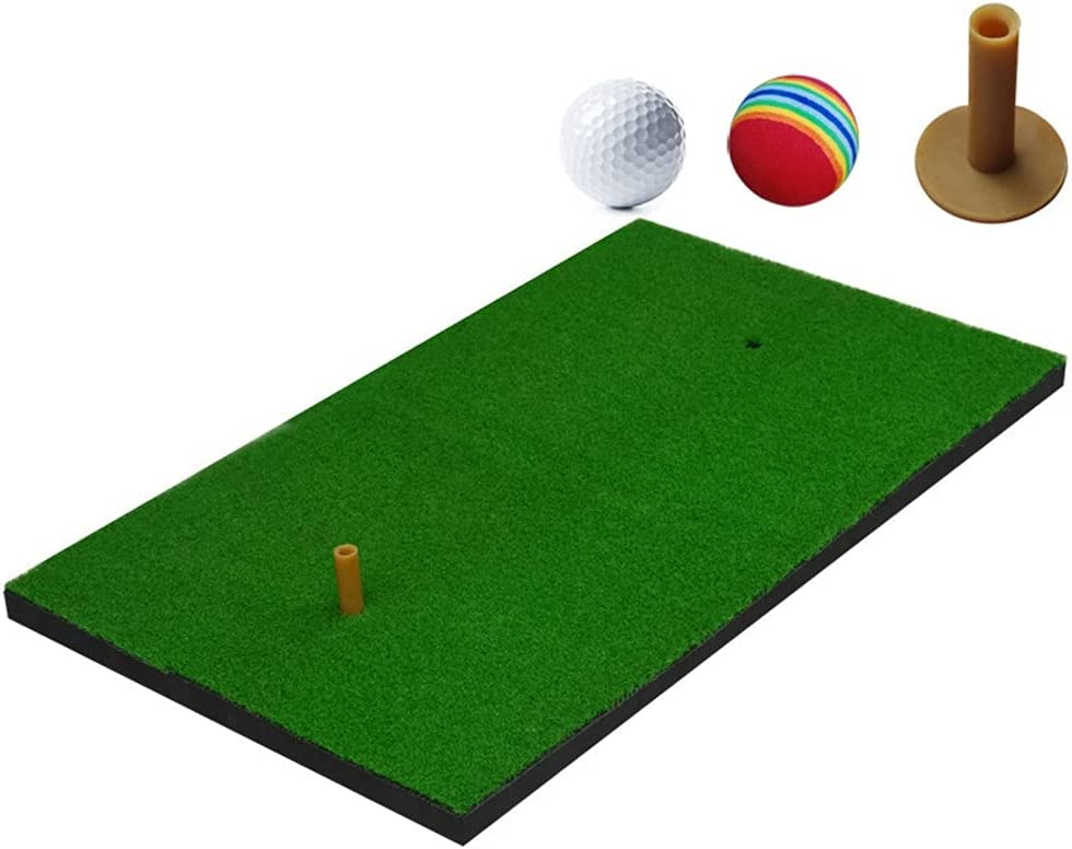Golf Practice Mat Reservation Artificial Special price Lawn Tee Rubber Grass Nylon Backyar