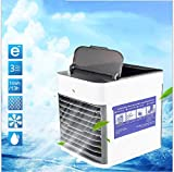 Vlejoy Pequeño Ventilador de refrigeración, Carga USB, refrigeración y Aire Acondicionado móviles, humidificador silencioso, purificador de Aire, Oficina portátil