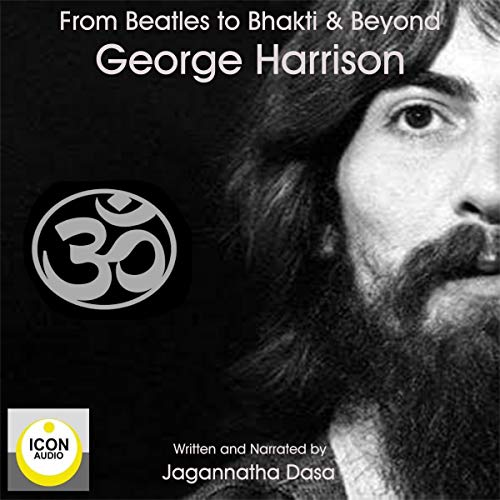 Diseño de la portada del título From Beatles to Bhakti and Beyond; George Harrison: The Long Road Home