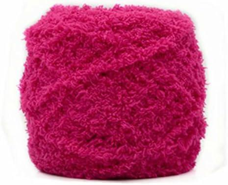 Celine lin One Skein Super Soft Warm Coral Fleece Fluffy Faux Fur Eyelash Yarn Faux Fur Eyelash product image