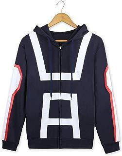 My Hero Academia Hoodie Anime Jacket Cosplay Gymnastics Uniforms Unisex Cotton Sweatshirt