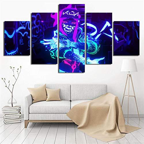 WGSJA Print op canvas tafel vlies eettafel schilderij decoratie wand foto persoonlijkheid wandsticker muursticker Large  10 Correas