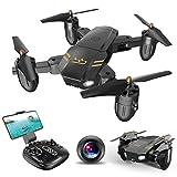 ScharkSpark Drone Guard per principianti, Drone con videocamera / video FPV HD, Quadricottero RC portatile, 2,4 G 6 Asse Modalità senza testa Altezza di attesa Ritorno con un pulsante 3D Giocattoli ribaltabili e bobine