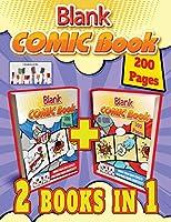 blank comic book: Draw Your Own Comics and Free your Creativity (I Fumetti Di Bia)