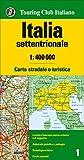 Italia settentrionale 1:400.000. Carta stradale e turistica (Carte d'Italia 1:400.000)