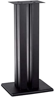 Monoprice Monolith Speaker Stands (Each), Black, 32 Inch