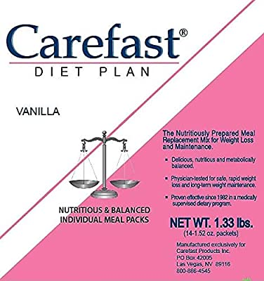 Carefast Diet PlanThe Nutritiously Prepared Meal Replacement Mix for Weight Loss