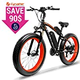 Cyrusher Fat Tire Bike Snow Bike Mountain Bike...