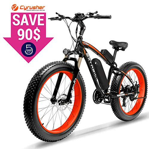 Cyrusher 500W Fat wheel Ebike