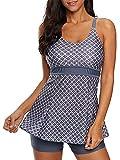 Zando Women's Slimming Skirt Swimsuit Dress Tummy Control 2 Piece...