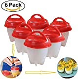 Best Egg Cookers - 6 Non-Stick Silicone Egg Cookers Hard and Soft Review
