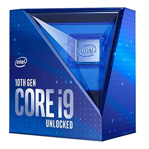 Intel Core i9-10850K Prozessor 10 Kerne mit 3.6 GHz (bis 5,2 GHz mit Turbo Boost 3.0, LGA1200 125W Prozessor (99A750) BX8070110850KA