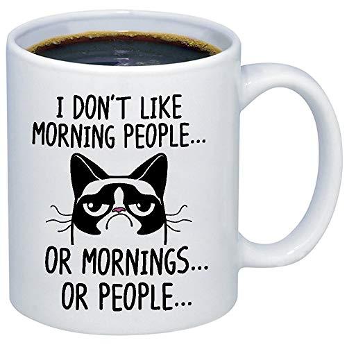 Funny Grumpy Cat Mug