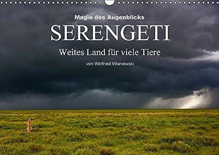 Magie des Augenblicks - Serengeti - Weites Land für viele Tiere (Wandkalender 2018 DIN A3 quer) Dieser erfolgreiche Kalender wurde dieses Jahr mit ... Wisniewski (Monatskalender, 14 Seiten )