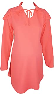 M4M Fashion Maternity Blouse For Women - Pink - small