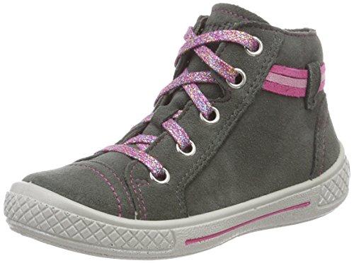 Superfit Mädchen Tensy Hohe Sneaker, Grau