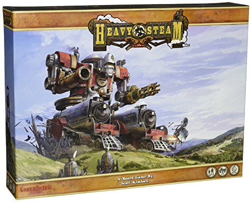 GreenBrier Games GRB00026 - Heavy Steam Core Game, Familien Strategiespiel