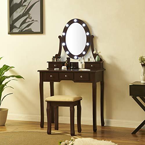 Fineboard Makeup Vanity Table