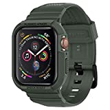 Spigen Rugged Armor Pro Designed for Apple Watch Case for 44mm Series 5 / Series 4 - Military Green
