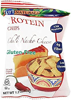 6-Pack Kay's Naturals Chili Nacho Cheese Protein Chips