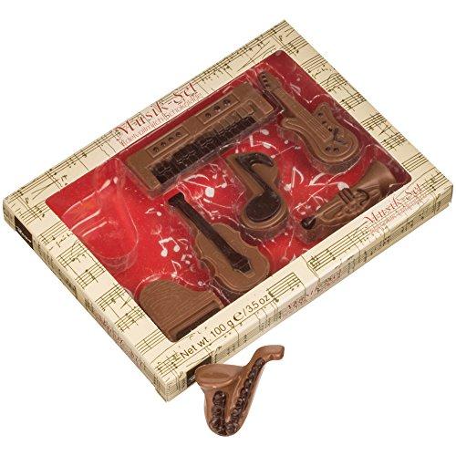 Baur Chocolat Edelvollmilch-Schokolade Geschenkpackung Musik & Instrumente, 100 g