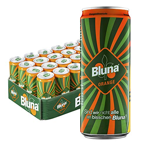 Bluna Orangenlimonade, EINWEG 24x330 ml
